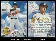 1994 Fleer Update Diamond Tribute #10