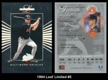 1994 Leaf Limited #5