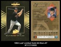 1994 Leaf Limited Gold All-Stars #7