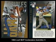 1994 Leaf MVP Contenders Gold #AL11