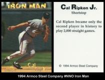 1994 Armco Steel Company #NNO Iron Man