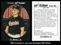 1994 Investors Journal Spotlight #8P White