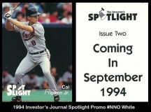 1994 Investors Journal Spotlight Promo #NNO White