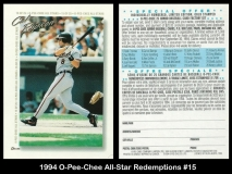 1994 O-Pee-Chee All-Star Redemptions #15
