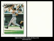 1994 O-Pee-Chee Jumbo All-Stars #15