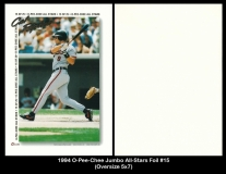 1994 O-Pee-Chee Jumbo All-Stars Foil #15