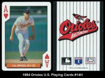 1994 Orioles US Playing Cards #14H