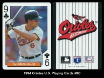 1994 Orioles US Playing Cards #9C