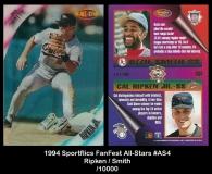 1994 Sportflics Fanfest All-Stars #AS4