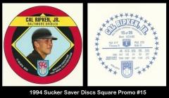 1994 Sucker Saver Discs Square Promo #15