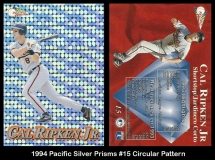 1994 Pacific Silver Prisms #15 Circular Pattern