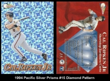 1994 Pacific Silver Prisms #15 Diamond Pattern