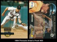 1994 Pinnacle Artists Proof #50