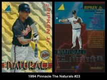1994 Pinnacle The Naturals #23