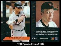 1994 Pinnacle Tribute #TR13