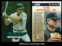 1994 Score Gold Stars #36