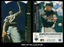 1994 SP Die Cuts #126