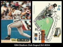 1994 Stadium Club Dugout Dirt #DD4