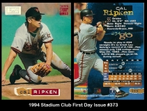 1994 Stadium Club First Day Issue #373