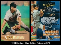 1994 Stadium Club Golden Rainbow #373