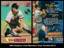 1994 Stadium Club Members Only Parallel #373