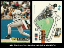 1994 Stadium Club Members Only Parallel #DD4
