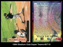1994 Stadium Club Sumer Teams #ST15