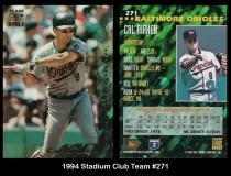 1994 Stadium Club Team #271