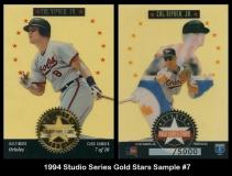 1994 Studio Series Gold Stars Sample #7