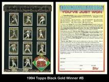 1994 Topps Black Gold Winner #B