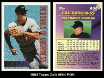 1994 Topps Gold #604 MOG