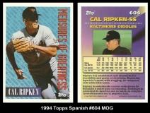1994 Topps Spanish #604 MOG