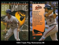 1994 Triple Play Nicknames #6