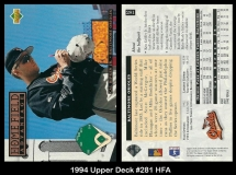 1994 Upper Deck #281 HFA