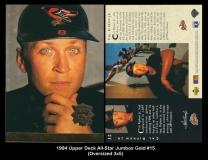 1994 Upper Deck All-Star Jumbos Gold #15