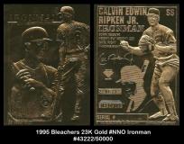 1995 Bleachers 23K Gold #NNO Ironman