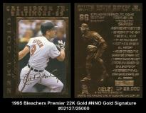 1995 Bleachers Premier 22K Gold #NNO Gold Signature
