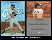 1995 Bowmans Best Refractor #R10