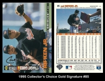 1995 Collectors Choice Gold Signature #85