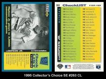 1995 Collectors Choice SE #263 CL