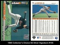 1995 Collectors Choice SE Silver Signature #155