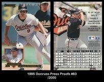 1995 Donruss Press Proofs #83