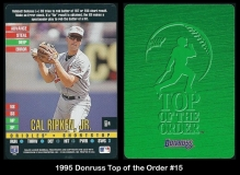 1995 Donruss Top of the Order #15