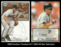 1995 Emotion Timeless #11 1995 All-Star Selection