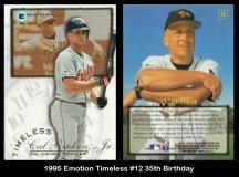 1995 Emotion Timeless #12 35th Birthday