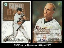 1995 Emotion Timeless #13 Game 2130