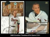 1995 Emotion Timeless #14 Game 2131