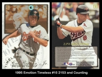 1995 Emotion Timeless #15 2153 and Counting