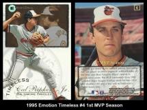 1995 Emotion Timeless #4 1st MVP Season