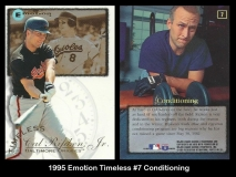 1995 Emotion Timeless #7 Conditioning